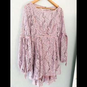 NWT Free People Romantic Lace Dress